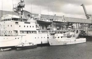 Survey ships and boats